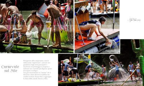 Discesa Folkloristica sul Sile - Carnevale sul Sile